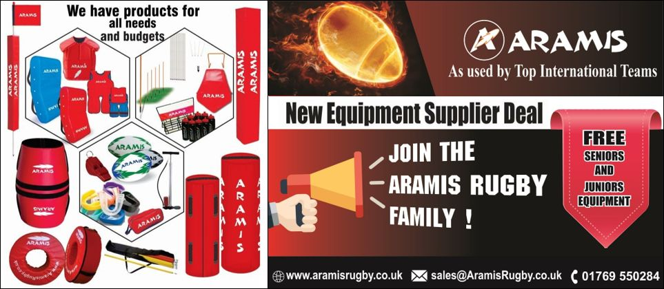 aramis offers new club equipment supplier deal to all rugby clubs