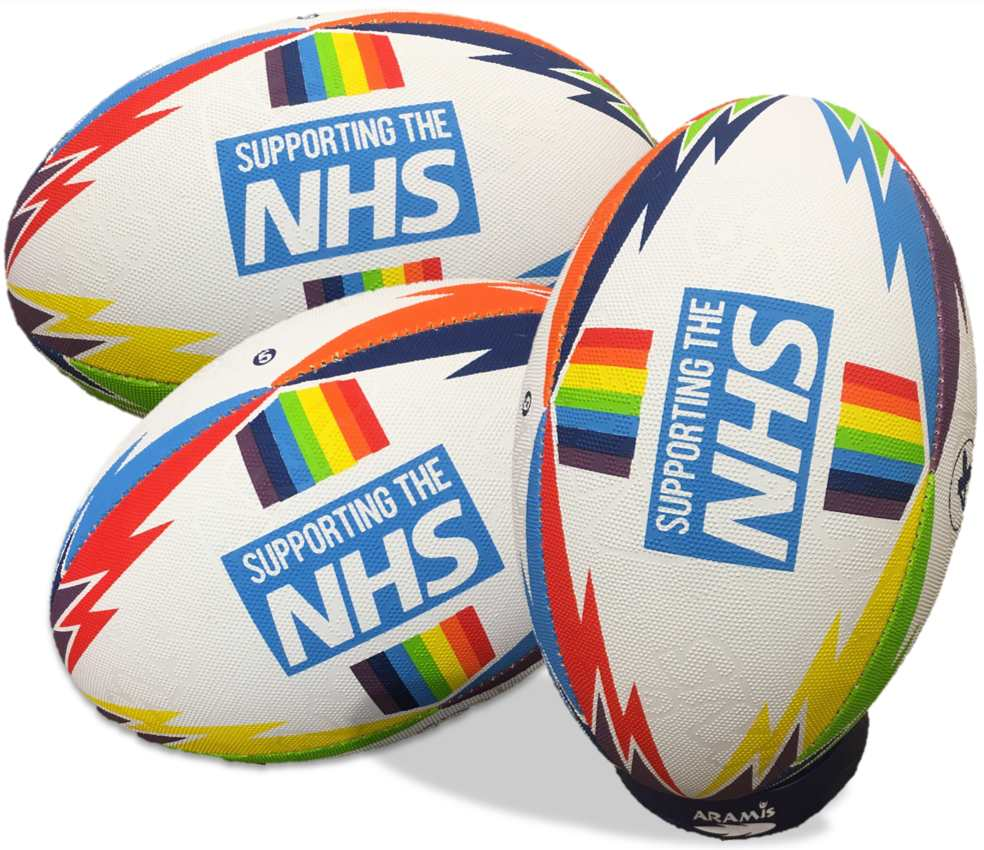 nhs rugby ball by aramis rugby