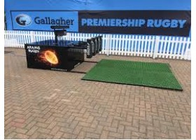 Digital machine being used at Premiership Finals 2019 at Twickenham