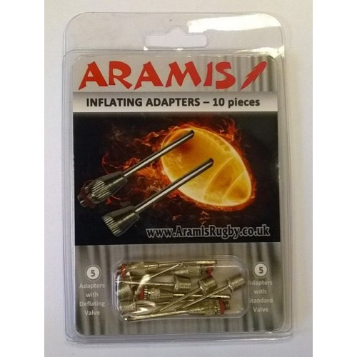Inflating Needle Adapters - 10 pack - Aramis BLACK FRIDAY manufacturer ARAMIS Seller - Aramis Rugby - www.AramisRugby.co.uk