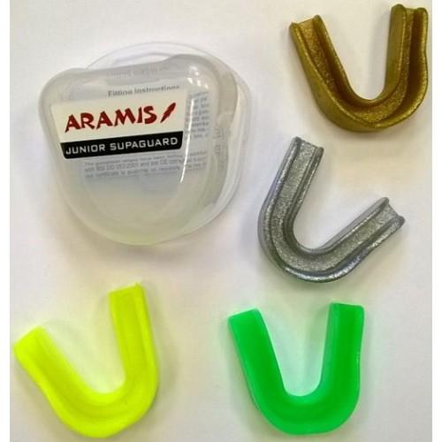 Gum Shields - MouthGuards - Junior - Aramis SupaGuard - Aramis BLACK FRIDAY manufacturer ARAMIS Seller - Aramis Rugby - www.AramisRugby.co.uk