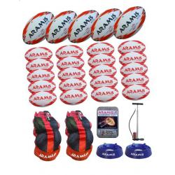 Rugby Ball Bundle - TEAM