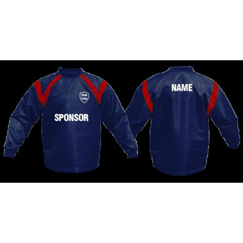 Coaches Tops - Fleece Lined - Showerproof - Custom made - Aramis Coaches & Referees manufacturer ARAMIS RUGBY Seller - Aramis Rugby - www.AramisRugby.co.uk
