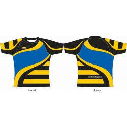 Rugby Playing Shirts - Design1 Pro Lycra Knit