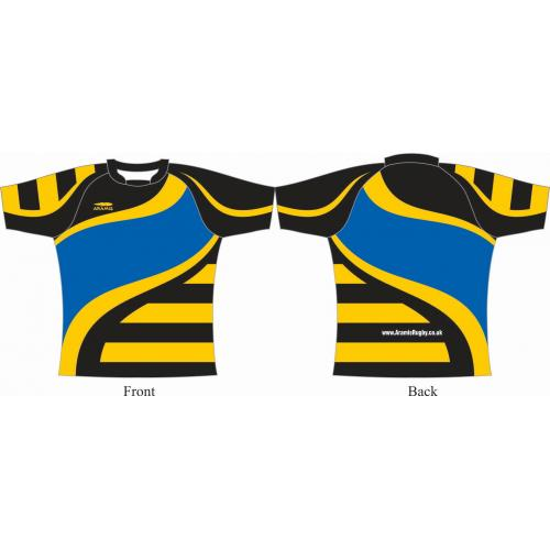 Rugby Playing Shirts - Design1 Pro Lycra Knit - Aramis Pro Lycra Knit £25.00 manufacturer ARAMIS RUGBY Seller - Aramis Rugby - www.AramisRugby.co.uk