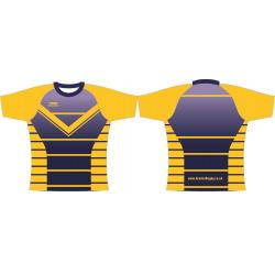 Rugby Playing Shirts - Design6 Club Pea Knit