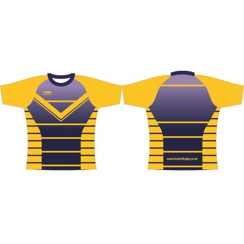 Rugby Playing Shirts - Design6 Pro Lycra Knit - Aramis Pro Lycra Knit £25.00 manufacturer ARAMIS RUGBY Seller - Aramis Rugby - www.AramisRugby.co.uk