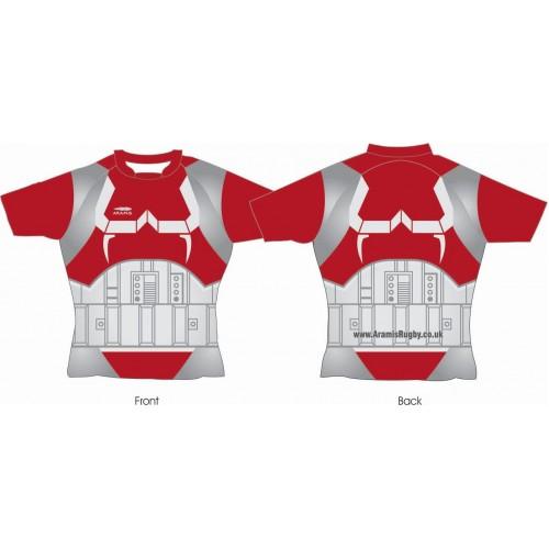 Rugby Tour Shirt - Design5 - IronMan - Aramis Tour Shirts manufacturer ARAMIS RUGBY Seller - Aramis Rugby - www.AramisRugby.co.uk