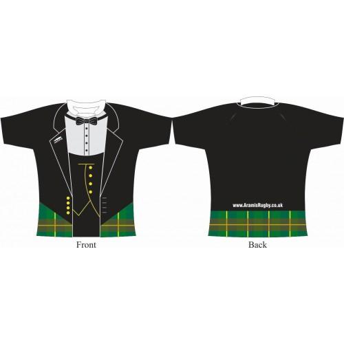 Rugby Tour Shirt - Design13 - Tartan - Aramis Tour Shirts manufacturer ARAMIS RUGBY Seller - Aramis Rugby - www.AramisRugby.co.uk