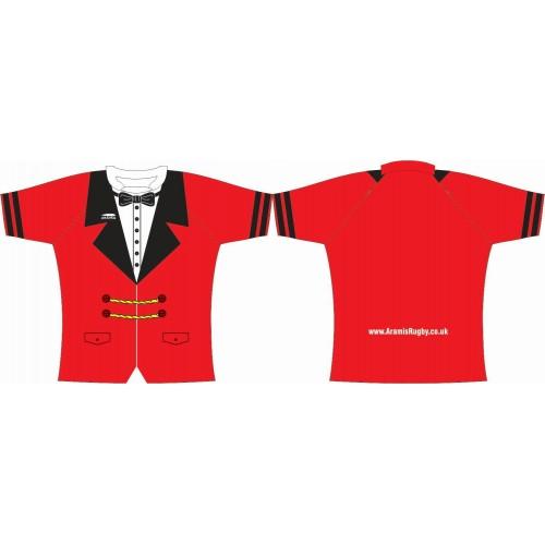 Rugby Tour Shirt - Design14 - Butler - Aramis Tour Shirts manufacturer ARAMIS RUGBY Seller - Aramis Rugby - www.AramisRugby.co.uk