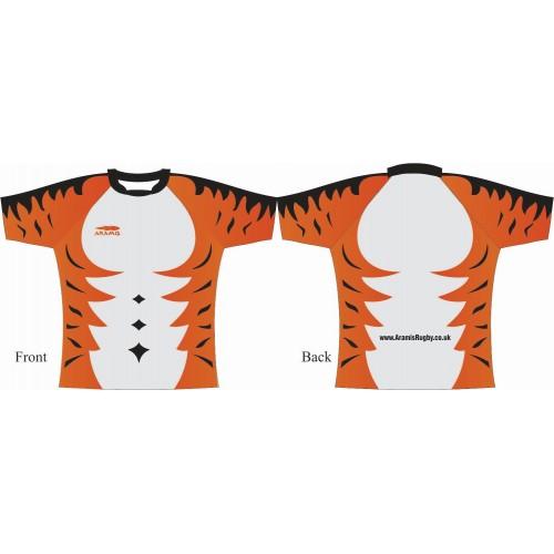 Rugby Tour Shirt - Design20 - Tigger - Aramis Tour Shirts manufacturer ARAMIS RUGBY Seller - Aramis Rugby - www.AramisRugby.co.uk