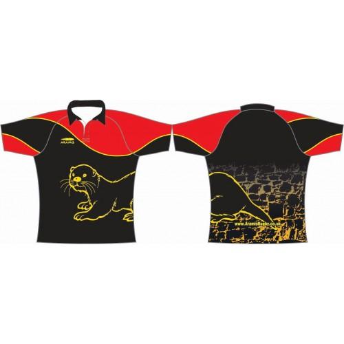 Rugby Tour Shirt - Design26 - Otter - Aramis Tour Shirts manufacturer ARAMIS RUGBY Seller - Aramis Rugby - www.AramisRugby.co.uk