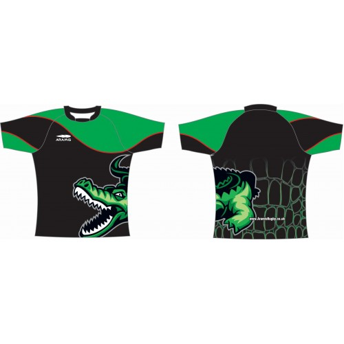 Rugby Tour Shirt - Design27 - Crocodile - Aramis Tour Shirts manufacturer ARAMIS RUGBY Seller - Aramis Rugby - www.AramisRugby.co.uk