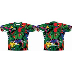 Rugby Tour Shirt - Design30 - Abstract Lion