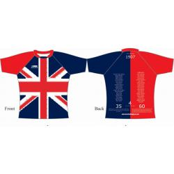 Rugby Tour Shirt - Design31 - United Kingdom