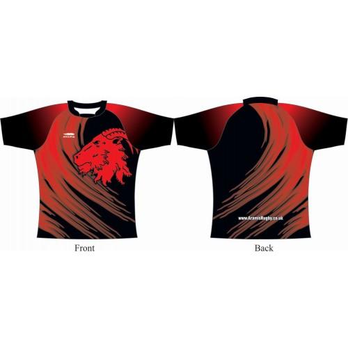 Rugby Tour Shirt - Design42 - Ram - Aramis Tour Shirts manufacturer ARAMIS RUGBY Seller - Aramis Rugby - www.AramisRugby.co.uk