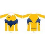 Rugby Tour Shirt - Design25 - Bat - Aramis Tour Shirts manufacturer ARAMIS RUGBY Seller - Aramis Rugby - www.AramisRugby.co.uk