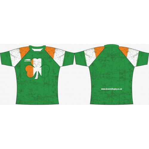 Rugby Tour Shirt - Design35 - Ireland - Aramis Tour Shirts manufacturer ARAMIS RUGBY Seller - Aramis Rugby - www.AramisRugby.co.uk