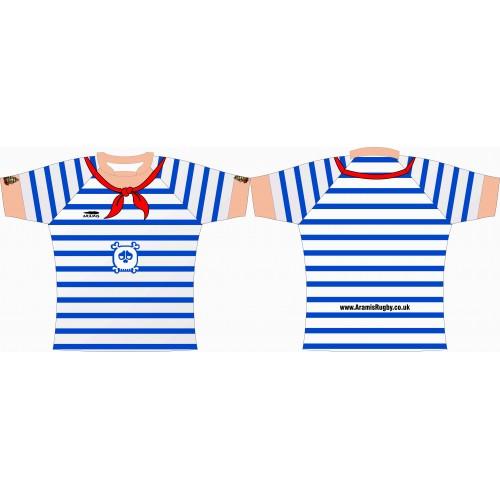 Rugby Tour Shirt - Design50 - Sailor - Aramis Tour Shirts manufacturer ARAMIS RUGBY Seller - Aramis Rugby - www.AramisRugby.co.uk