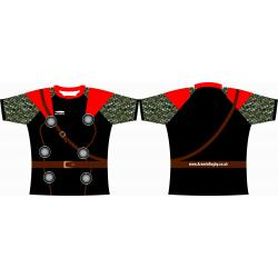 Rugby Tour Shirt - Design53 - Roman Fighter