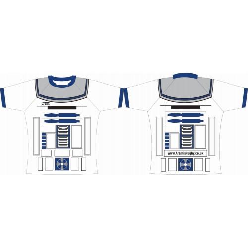 Rugby Tour Shirt - Design61 - Robot - Aramis Tour Shirts manufacturer ARAMIS RUGBY Seller - Aramis Rugby - www.AramisRugby.co.uk