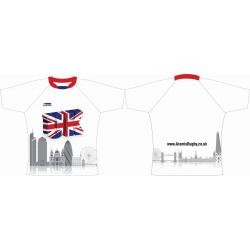 Rugby Tour Shirt - Design64 - London Skyline