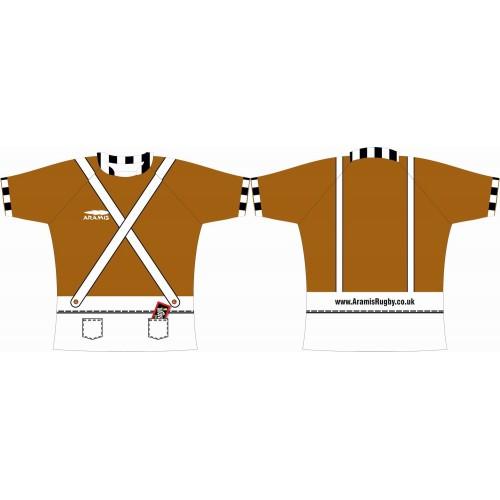 Rugby Tour Shirt - Design68 - Pandoo - Aramis Tour Shirts manufacturer ARAMIS RUGBY Seller - Aramis Rugby - www.AramisRugby.co.uk