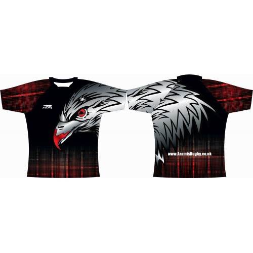 Rugby Tour Shirt - Design69 - Eagle - Aramis Tour Shirts manufacturer ARAMIS RUGBY Seller - Aramis Rugby - www.AramisRugby.co.uk