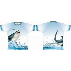 Rugby Tour Shirt - Design70 - Shark