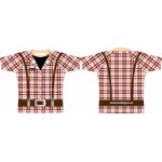 Rugby Tour Shirt - Design71 - Check Suspenders