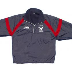 Training Tops - Showerproof - Fleece Lined - Quarter Zip - Custom made