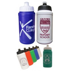 Custom Printed Water Bottles  - 500ml