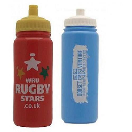 Custom Printed Water Bottles  - 750ml - Aramis Custom Printed Water Bottles manufacturer ARAMIS Seller - Aramis Rugby - www.AramisRugby.co.uk