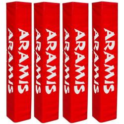 "Rugby Post Pads - Set of 4 (12""-30cm wide face)"