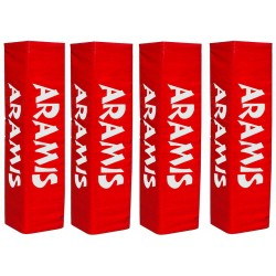 """Rugby Post Pads - Set of 4 (20""""-51cm wide face)"""