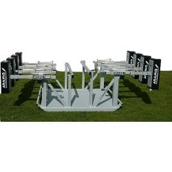 Combo Senior Junior Reactive Kiwi Sled Scrum Machine - STD