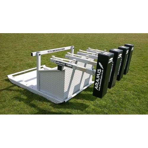 RX-8 PRO Junior Reactive Kiwi Sled Scrum Machine - Aramis Scrum Machines manufacturer ARAMIS Seller - Aramis Rugby - www.AramisRugby.co.uk