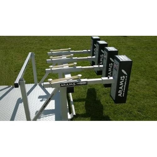 RX-8 STD Senior Reactive Kiwi Sled Scrum Machine - Aramis Scrum Machines manufacturer ARAMIS Seller - Aramis Rugby - www.AramisRugby.co.uk