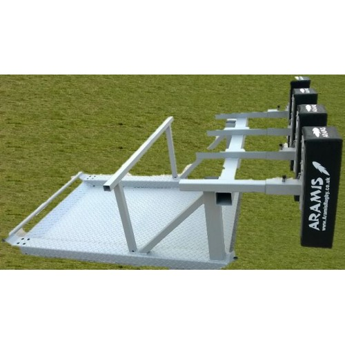 SX-8 STD Senior Static Kiwi Sled Scrum Machine - Aramis Scrum Machines manufacturer ARAMIS Seller - Aramis Rugby - www.AramisRugby.co.uk