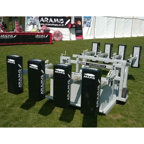 Ex-Display Combo Kiwi Chariot Reactive Scrum Machine - Aramis Scrum Machines manufacturer ARAMIS Seller - Aramis Rugby - www.AramisRugby.co.uk