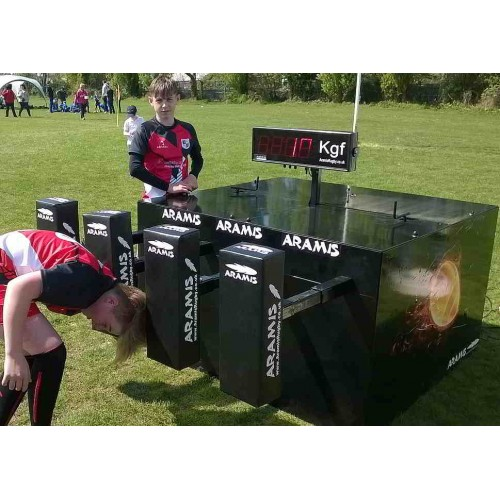 Ex-Display Automatic Full Pack Digital Scrum Machine - Aramis Scrum Machines manufacturer ARAMIS Seller - Aramis Rugby - www.AramisRugby.co.uk