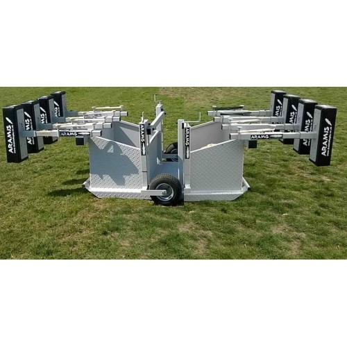 Ex-Display Combo Kiwi Chariot Reactive Scrum Machine - Aramis Scrum Machines manufacturer ARAMIS Seller - Aramis Rugby - www.AramisRugby.co.uk