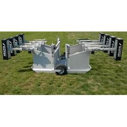 Combo Chariot Senior Junior Reactive Scrum Machine - PRO