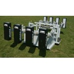 Combo Chariot Senior Junior Reactive Scrum Machine - PRO - Aramis Scrum Machines manufacturer ARAMIS Seller - Aramis Rugby - www.AramisRugby.co.uk