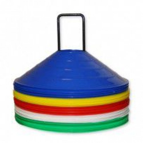 Disc Markers - Multicoloured - (Set of 25) - Aramis Cones & Grid Markers manufacturer ARAMIS Seller - Aramis Rugby - www.AramisRugby.co.uk