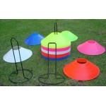 Disc Markers - Metal Stand - Aramis Cones & Grid Markers manufacturer ARAMIS Seller - Aramis Rugby - www.AramisRugby.co.uk