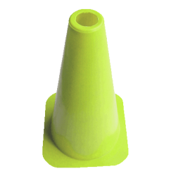 "Solid Training Cones - 23cm (9"") Set of 20"
