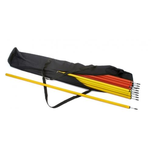 Superior Grid Training Slalom Poles - (Set of 12) - Aramis Training Poles manufacturer ARAMIS Seller - Aramis Rugby - www.AramisRugby.co.uk