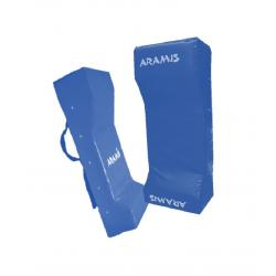 Rugby Tackle Shield - SENIOR - BLUE - Double Wedge
